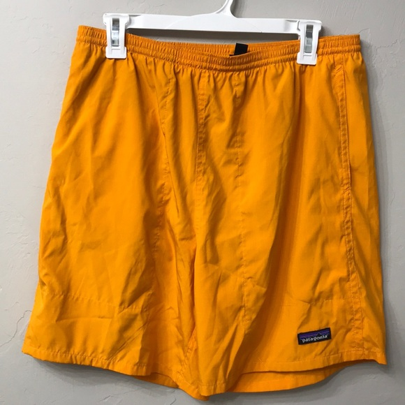c184a52cc5 Men's Patagonia orange swim shorts size Large. M_5c97800d619745be0dac22bc